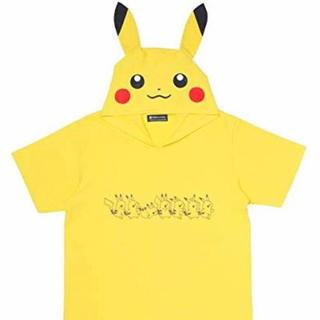 ポケモン(ポケモン)のピカチュウカーニバル フード付きTシャツ L(Tシャツ(半袖/袖なし))