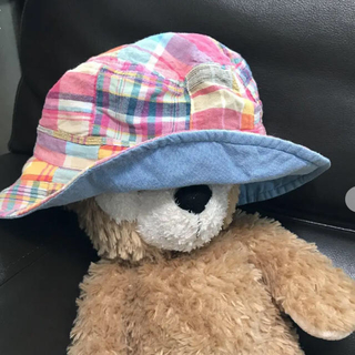 グリーンレーベルリラクシング(green label relaxing)の帽子 リバーシブル グリーンレーベル(帽子)
