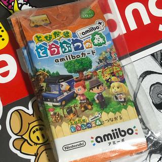 ニンテンドウ(任天堂)のとびだせどうぶつの森 amiiboカード 5パックセット 新品未開封 送料込(カード)