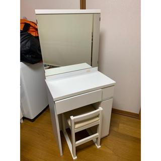 ニトリ(ニトリ)の化粧台(ドレッサー/鏡台)