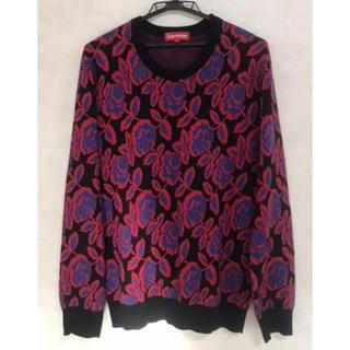 シュプリーム(Supreme)のsupreme 12aw rose sweater セーター(ニット/セーター)