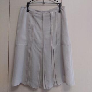 ミッシェルクラン(MICHEL KLEIN)の〈MICEL KLEIN〉スカート(ひざ丈スカート)