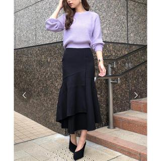 リエンダ(rienda)の【値下げ】今季 rienda ラップマーメイドスカート(ひざ丈スカート)