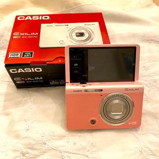 カシオ(CASIO)のCASIO デジタルカメラ EXILIM EX-ZR70PK (コンパクトデジタルカメラ)