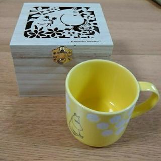 リトルミー(Little Me)のムーミン  木箱入マグカップ(グラス/カップ)