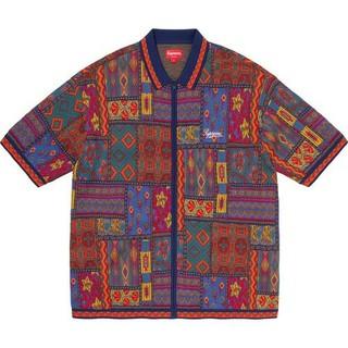 シュプリーム(Supreme)の定価以下 supreme patchwork knit zip up polo(ポロシャツ)