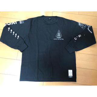 アヴィレックス(AVIREX)のAVIREX プリント長袖Tシャツ X-15 AVI6183501(Tシャツ/カットソー(七分/長袖))