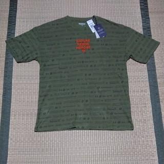 ティンバーランド(Timberland)の新品 Timberland Tシャツ M 深緑(Tシャツ/カットソー(半袖/袖なし))