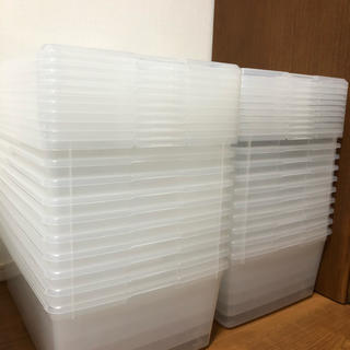 コストコ(コストコ)の 中古 コストコ アイリスオーヤマ スニーカーボックス 20箱セット(ケース/ボックス)