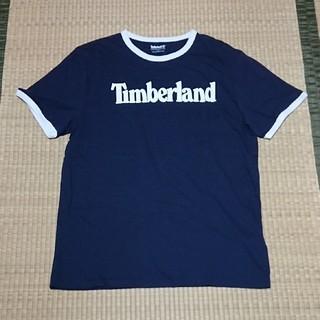 ティンバーランド(Timberland)の新品 Timberland Tシャツ L ネイビー(Tシャツ/カットソー(半袖/袖なし))