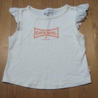 オゾック(OZOC)の子ども服オゾックOZOC110センチタンクトップキャミソールTシャツノースリーブ(Tシャツ/カットソー)