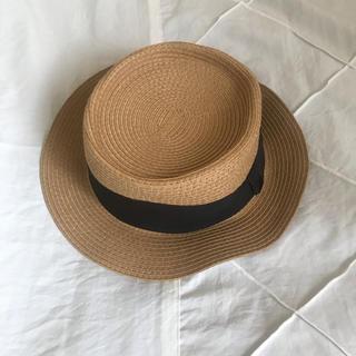 カシータ(casiTA)のカンカン帽(麦わら帽子/ストローハット)