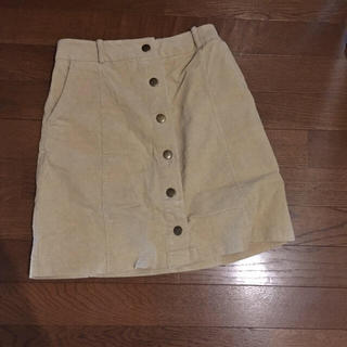 台形スカート(ひざ丈スカート)