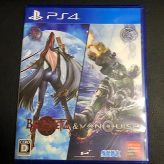 プレイステーション4(PlayStation4)のBAYONETTA&VANQUISH PS4 美品(家庭用ゲームソフト)