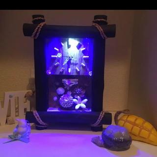 フランフラン(Francfranc)の置物時計 ナチュラル ハンドメイド ライト インテリア(置時計)