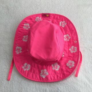 コストコ(コストコ)のコストコ UV帽子 ハット ハイビスカス ピンク(帽子)