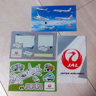 ジャル(ニホンコウクウ)(JAL(日本航空))のJAL シール4枚セット(航空機)