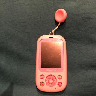 エヌティティドコモ(NTTdocomo)のキッズ携帯(携帯電話本体)