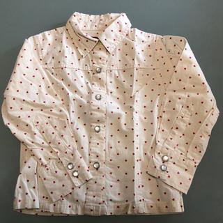 シップス(SHIPS)のSHIPS シャツ 100㎝ 女の子 長袖シャツ(ブラウス)
