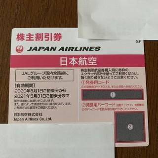 [JAL株主優待券]日本航空 株主割引券(航空券)