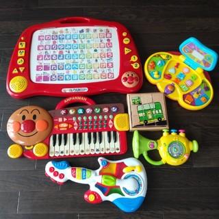 アンパンマン(アンパンマン)のアンパンマン キーボード ひらがな 音の出るおもちゃ 楽器 ピアノ  まとめて(楽器のおもちゃ)