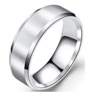 ステンレスリング【シルバー】, 14号(US7.5号))    (リング(指輪))
