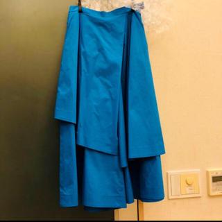 エンフォルド(ENFOLD)の美品 ENFOLD コレクション スカート パンツ(キュロット)