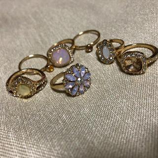 エイチアンドエム(H&M)のH&M 指輪 セット(リング(指輪))