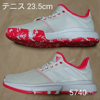 adidas - テニスS 23.5cm アディダス Game Court M MC