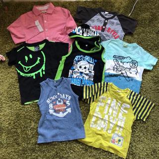 ティンカーベル(TINKERBELL)のTシャツ 男の子まとめ売り110.120 サイズ(Tシャツ/カットソー)