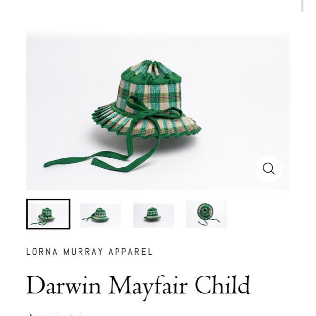 Caramel baby&child (キャラメルベビー&チャイルド)の新品 lornamurray  kids child 帽子 mayfair キッズ/ベビー/マタニティのこども用ファッション小物(帽子)の商品写真