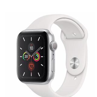 アップル(Apple)のApple Watch Series5 アップルウォッチ シリーズ5 白(腕時計(デジタル))