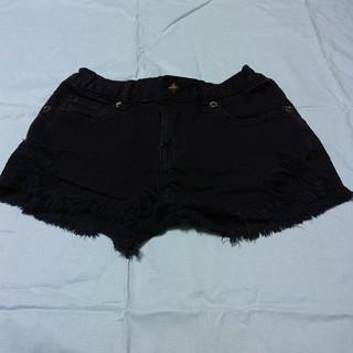 イングファースト(INGNI First)のINGNIfirst・ブラックショートパンツ(120cm)(パンツ/スパッツ)