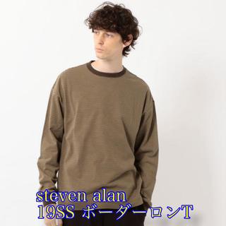 スティーブンアラン(steven alan)のsteven alan スティーブンアラン ボーダーロンT(Tシャツ/カットソー(七分/長袖))