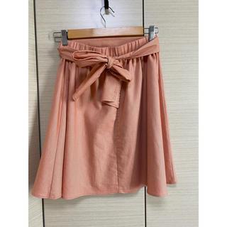 クチュールブローチ(Couture Brooch)の膝丈スカート ウエストリボン付き(ひざ丈スカート)