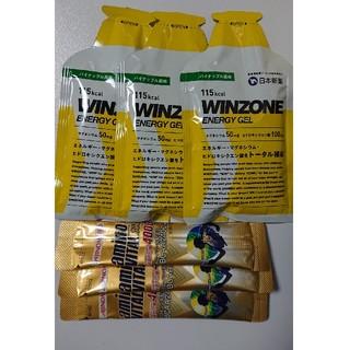 アジノモト(味の素)の(2セット)エネルギージェルWINZONE3個、アミノバイタルゴールド3本   (アミノ酸)