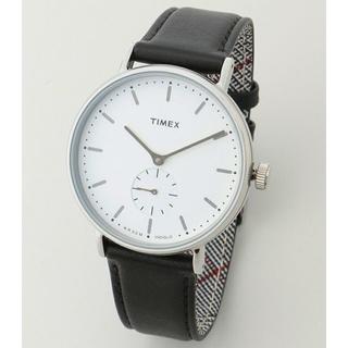 タイメックス(TIMEX)のTIMEX 新品 FAIRFIELD フェアフィールド TW2R38000 白黒(腕時計(アナログ))