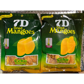 MANGO - フィリピン セブ 7D  ドライマンゴー 400g分