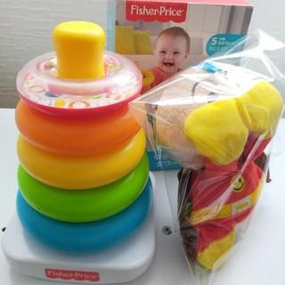 フィッシャープライス(Fisher-Price)のゆらりんタワー&アンパンマン知育玩具(知育玩具)