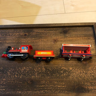 Disney - プラレール ミッキー SL 蒸気機関車