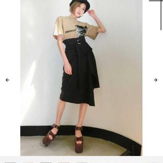エモダ(EMODA)のEMODA コルセットコンビスカート(ひざ丈スカート)