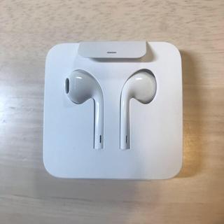 アイフォーン(iPhone)のiPhone 純正イヤフォン イヤホン 白 Appleアップル 2個セット(ヘッドフォン/イヤフォン)