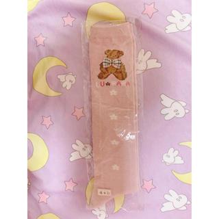 ピンクハウス(PINK HOUSE)の新品未使用 くまさんピンク靴下 ハイソックス(ソックス)
