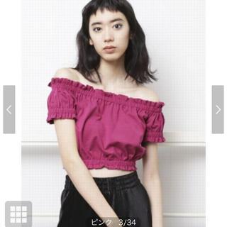 エモダ(EMODA)のEMODA オフショル トップス(Tシャツ(半袖/袖なし))