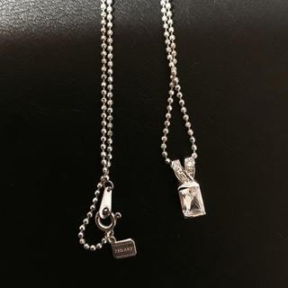 ゼハート(ZHEART)のZHEARTネックレス925ダイヤモンド(ネックウォーマー)