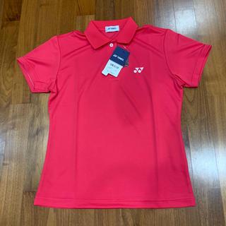ヨネックス(YONEX)のヨネックス YONEX  半袖ポロシャツ レディースL 【新品未使用】(ウエア)