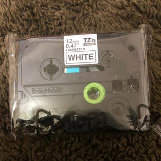 brother - ブラザー ピータッチ 白12mmテープ 新品未使用品 TZe ピータッチキューブ
