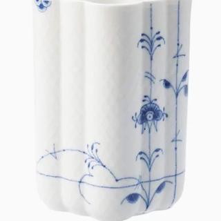 ロイヤルコペンハーゲン(ROYAL COPENHAGEN)の値下げ♥︎ロイヤルコペンハーゲン ブルーパルメッテベース(花瓶)(花瓶)