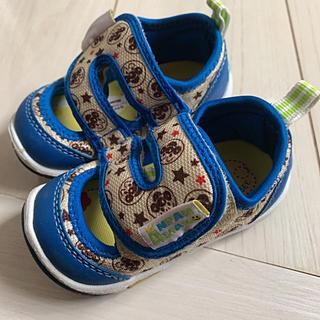 アンパンマン - 美品 アンパンマン サンダルスニーカー 夏用 靴 キッズ 12.5センチ 男の子