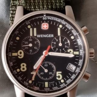 ウェンガー(Wenger)の0104 WENGERコマンドクロノ7072X(腕時計(アナログ))